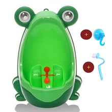 Buy Baby Toilet Frog Wall-Mounted Kids Boy Toilet Pee Baby Boy Potty Toilet Training Frog Children Boy Pot Stand Vertical Urinal for $7.55 in AliExpress store