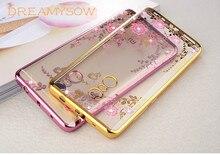 DREAMYSOW Soft TPU Case Xiaomi Redmi 3 3X 3S 4X 4A 4 Pro 5A 5 Plus Note 4X 5A 4 Global Version Diamonds Lace Pattern Cover