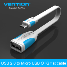 Vention Micro USB OTG Cable Adapter 10cm 25cm For Samsung S4/S3 i9300 HTC Sony Android Tablet PC MP3/MP4 Smart Phone