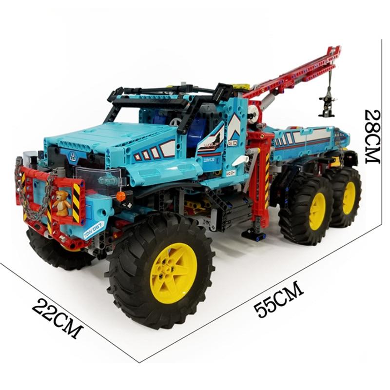IN-STOCK-H-HXY-20056-1912Pcs-The-Ultimate-All-Terrain-6X6-Remote-Control-Truck-Set-Lepin (4)