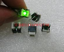 Imported from Japan ALPS square with lamp light touch switch Button switch SKHQ series 6*6*7 green light 6*6*7mm