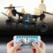 Buy RC Selfie Drone 2.0MP 720P HD Wifi Camera Quadcopter 2.4G 4CH 6Axis Helicopter Drone Remote Control Toy VS XS809HW for $43.99 in AliExpress store
