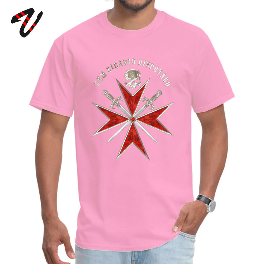 Assassin Crusader O-Neck Top T-shirts Summer Autumn Tops T Shirt Short Sleeve On Sale Cotton Fabric Hip hop Tees comfortable Men 190705Assassin Crusader pink