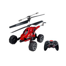 Wholesale 2PCS/lot 3.5 Channel High Quality Land And Air Amphibious UDI U821 (3 in I) Infrared RC Helicopter(China)