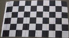 CHECKERED FLAG NASCAR NEW CAR RACING RACE High Quality Flag Custom flag Drop Shipping(China)