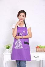 2017 New hot fashion Cartoon girl women lady Chefs Kitchen Cooking Apron Coverall Tablier Pinafore antifouling Oil proof