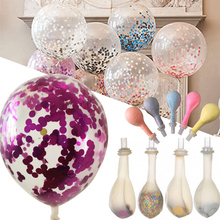 5Pcs/Bag Birthday Party Supply Latex Balloons Celebration Decor Popular(China)