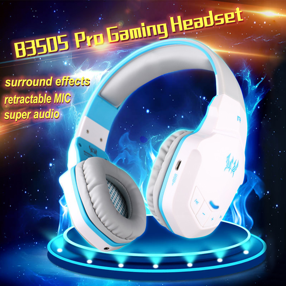 Free Shipping Bluetooth V4.1 Gaming Headphone B3505 Wireless Headset For Running Strolling Game Call Pro Gaming Headphone EG7330<br>