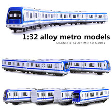 1:32 alloy metro models,high simulation magnetic vehicle model, metal diecasts,pull back,children's toy vehicles,free shipping(China)