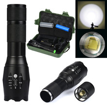 New XMLT6 Zoomable LED Flashlight X800 G700 Battery Charger Torch Lamp Battery Outdoor Sports Bike Bicycle Accessories Nov 1(China)