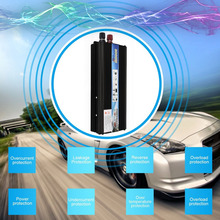 Car Styling Automobiles Inverter DC 12V 50Hz Auto Inverter 2000W Solar Power Converter Inverter With USB Port Cooling Fan System(China)