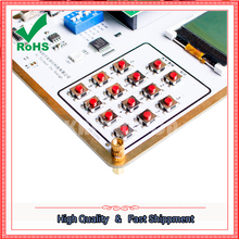 GPRS module GSM module A6 SMS voice development board wireless data transmission test board(China)