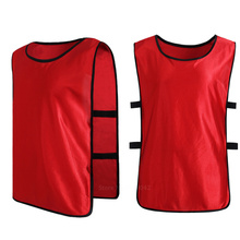 DIY Child Kids Football Kits boy soccer jerseys 2016 2017 survetement football Against Training Vest Waistcoat Grouping Jerseys(China)