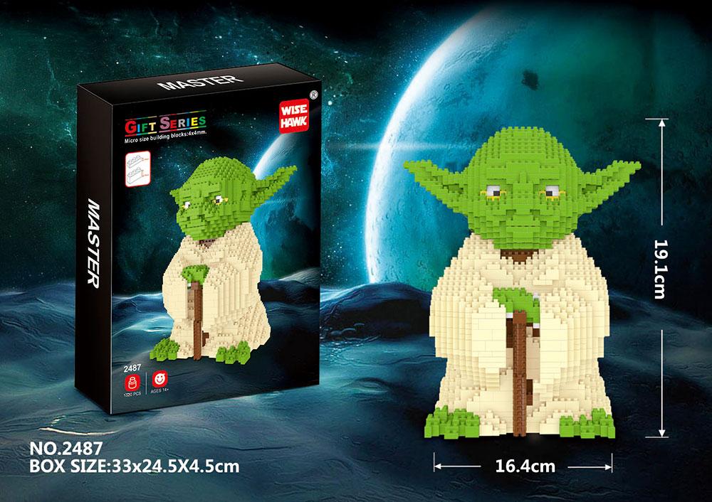 Yoda Big Size NanoBlocks Figures 1520 PCS