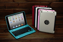 "For iPad 2 3 4 9.7"" Tablet PC Luxury Wireless Bluetooth 3.0 Keyboard Protective Case Cover+Stylus Pen+Webcam Cover"
