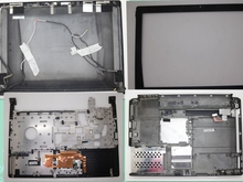 Laptop LCD Top Cover For lenovo V350 U330 Front Bezel Palmrest Bottom Case Hinges Cover Power Button Cover 60.4Y732.001