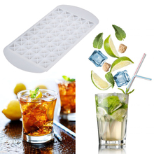 160 Grids DIY  Small Ice Cube Mold Square Shape Silicone Ice Tray Ice Cube Maker Fruit Ice Cube Maker Bar Kitchen Access