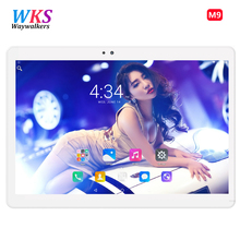 Sales promotion 10 inch tablet pc Octa Core Ram 4GB Rom 64GB Android 6.0 bluetooth Phone tablets GPS 1920*1200 IPS Kids Gift(China)