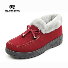 CBJSHO Lovely Floor Soft Warm Home Slippers Shoe Cotton Winter Slippers Women Plush Winter Comfortable Indoor Fur Slippers Woman(China)