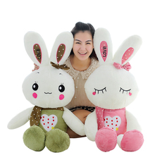 55cm Cute rabbit plush toys doll kids gifts 5-style Bunny Stuffed Animal Rabbit Toy Birthday Gifts