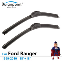 "Wiper Blades for Ford Ranger 1999-2010 18""+18"", Set of 2, Super Tech Changing Wipers"