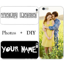 Fashion Customize WordArt Name Letter Logo Photo Picture Cell Phone Case For HTC Desire 650 A17 DIY Hard PC Back Cover Shell