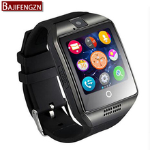 Smart Watch For Android Support memory Card Sim GPRS 1.54'' TFT Wrist Bracelet Sports pedometer Bluetooth wristwatch Q18 GT08