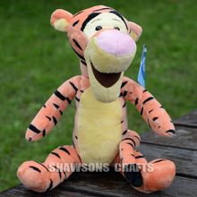 "WINNIE FRIENDS TIGER 10"" PLUSH STUFFED TOYS THE TIGGER SOFT DOLL"