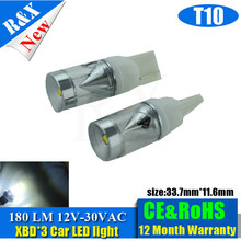 2pcs XBD 15W T10 W5W White no polarity 10-30V Car LED Bulbs Lamp 501 dash Car Light Source parking(China)