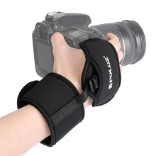 PULUZ Universal Camera Grip Wrist Hand Strap for DSLR Prevents Droppage And Stabilizes Video Action Video Cameras Accessories(China)