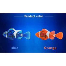 2 Color RC Fish Toy Powered Speed Radio Control Toys Plastic Model Outdoor Toys for Children(China)