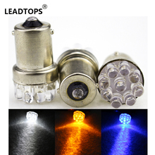 10 x 9 SMD LED 1156 ba15s 12V Bulb Lamp Truck Car Moto Tail Turn Signal Light White / Red / Blue/yellow AJ