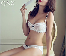 Buy BS3 2017 New Sexy Underwear Women Bra Set Vs Victoria Lingerie Set Luxurious Vintage Lace Embroidery Unlined Bra Panty Set