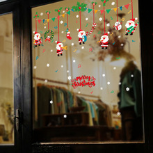Macro SK9246 Christmas Note Stick Wall Hangings Doors And Windows Festival Shop Celebrate Articles Gift Snow On Match Box(China)