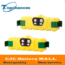 2Pcs New 4000mah Vacuum Battery for iRobot Roomba 500 560 530 510 562 550 570 581 610 650 790 780 532 760 770 battery Robotics