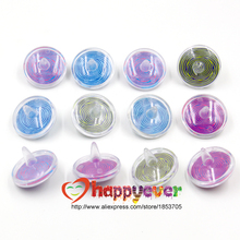12Pcs Assorted Plastic Spinning Top Kids Toys Girl Boy Party Favors Retro Birthday Goodie Bags Pinata Fillers Carnival Prize