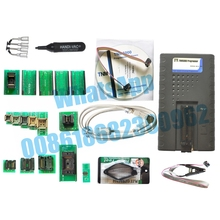 TNM5000 USB EPROM Programmer+12pcs adapters include TSOP48+TSOP56+test clip,Support /Microcontroller/ECU,Fast mode SPI support