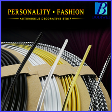 3/5meters U style decoration strip Grill Chrome car automotive air conditioning outlet blade car styling tuyeres