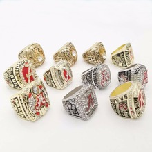 Free Shipping High Quality Big Sets for Replica 11 Years Alabama Crimson Tide National Championship Rings