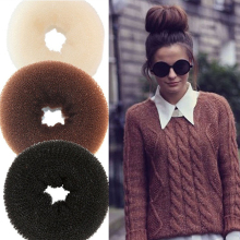 YouMap DIY Pure Knitted Hair Bun Hair Donut Make Your Hair More Stylish Hair Accessories