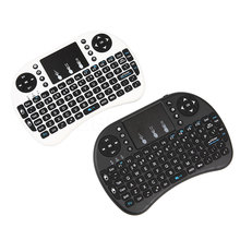 Mini USB 2.4G Wireless Keyboard Air Mouse Keyboard Touchpad Remote Control English Version For Android TV Box Notebook Tablet PC