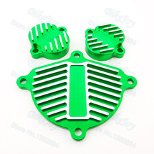 Green Dress Up Kit Engine Cam YX 150cc 160cc 1P60 Cover Valve For Cap Dress Up Kit Pit Dirt Bike Motorcycle Parts(China)