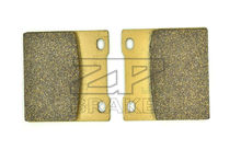 New Brand Organic Brake Pads Fit Rear KAWASAKI ZZR 1100 (ZXT10D/G203) 1994- ZX-7R 750 Ninja P1, P2 1996-2002 Motorcycle BRAKING(China)