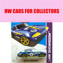 2013 New Hot Wheels 1:64 corvette grand sport car Models Metal Diecast Car Collection Kids Toys Vehicle  Juguetes