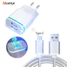 US / EU AC Plug Travel Charger,USB Charger Cable for UMI Plus, Super, Max, Iron Pro, Hammer S Type C Charging Sync Data Cable(China)