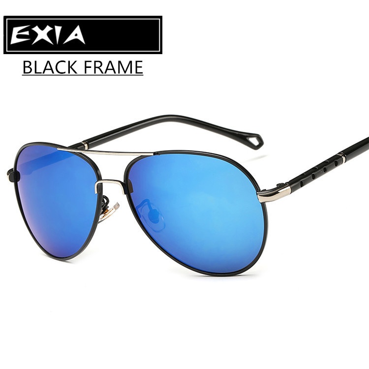 Blue REVO Sunglasses Mirrored Lenses Polarized RX Power AR Blue Coatings EXIA OPTICAL KD-371 Series<br><br>Aliexpress