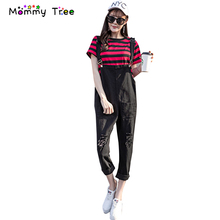 Black White Maternity Bib Overalls Pregnancy Pants 2017 Summer Maternity Jumpsuits Pregnancy Clothes for Pregnant Women(China)
