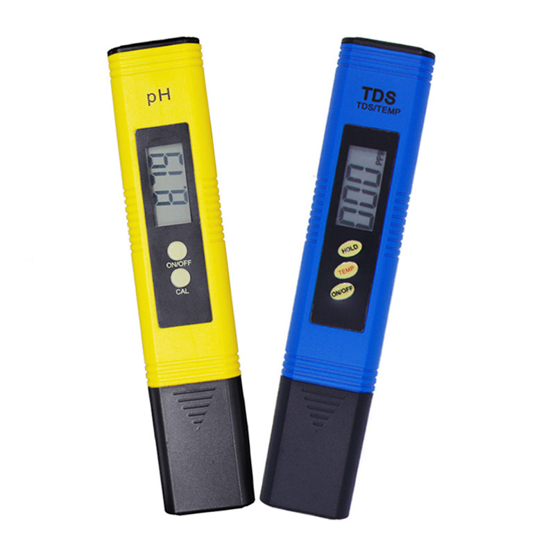 By DHL Fedex 100pcs PH Meter Digital Tester automatic calibration+ Water Quality Purity TDS Tester with Titanium alloy probe 16% 3