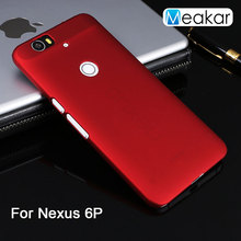 Grind arenaceous Hard Plastic shell 5.7for Nexus 6P Case For Huawei Nexus 6P Cell Phone Back Cover Case
