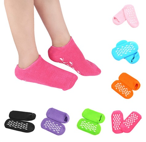 1Pair High Quality Repair Cracked Skin Gel Sock Soften Skin Foot Care Treatment Spa Sock Health Care Protectors 7 Colors